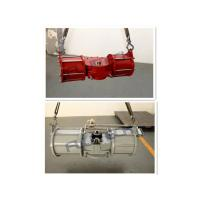 Heavy Duty Spring Return Pneumatic Actuator , Double Acting Rotary Valve Actuator