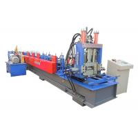 Wholesale Interchangeable CZ Purlin Roll Forming Machine Working Speed 20-25 M/Min from china suppliers