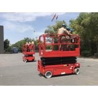 Wholesale 12m working height plataforma elevadora scissor lift platform for construction from china suppliers