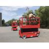 Buy cheap 12m working height plataforma elevadora scissor lift platform for construction from wholesalers