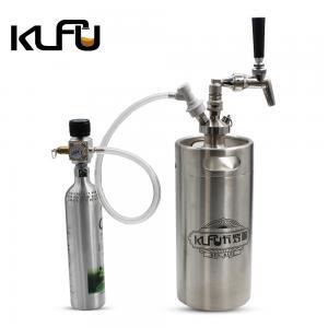 Wholesale 8L Capacity 18.3*18.3*50.5cm Co2 Regulator Set Nitrogen Coffee Keg from china suppliers