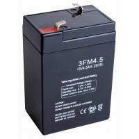Wholesale Backup sealed lead acid Emergency Lighting 6v 4ah FM Batteries (3FM4A, 3FM4E, 3FM4B) from china suppliers