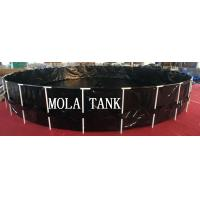 New design products portable flexible cube structure fish farming tanks for sale for sale