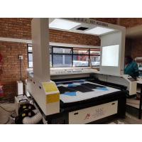 China 150 Watts CO2 Vision Laser Cutting Machine For Custom Cycling Jerseys JHX - 180100S on sale