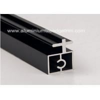 Wholesale Black Anodized Extruded Aluminium Profiles Channel Irregularity Shape Long Durability from china suppliers