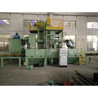 Buy cheap 100 - 500 mm Pipe dia Automatic Shot Blasting Machine / Sheet Plate Shot from wholesalers