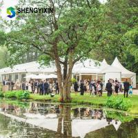 China UV Resistant Mobile Aluminum Party cheap pvc fabric transparent show outdoor wedding event tents on sale