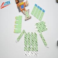 Wholesale Ultrasoft CPU Heatsink Green 3.0W / m - K silicone thermal gap filler TIF100-30-07E with 35shore00  -50 to 200℃ from china suppliers