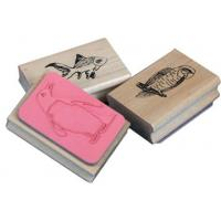 Wholesale Personalized Wooden Kids Stamp Set Self Inking For Kids from china suppliers