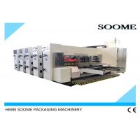 China High Precision Flexo Printer Slotter Die Cutter PLC Control For Corrugated Cartons on sale