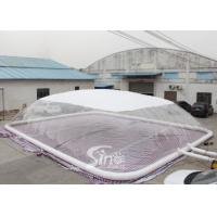 Wholesale Custom Size Inflatable Swimming Pool Cover Dome Tent With Water Tube For Swimming Pool Use from china suppliers