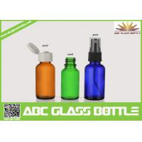 Pump Sprayer Sealing Type And Boston Bottle For Essential Oil,Glass Essential Oil Bottle