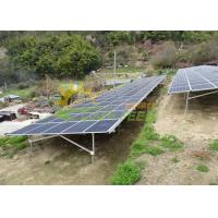 Wholesale Pre - Assembled Solar Panels Ground Mounting System With Stable Structure from china suppliers