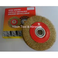 Wholesale 4'' Good quality Crimp Steel Wire Brush from china suppliers