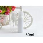 China Foam Soap Pump Plastic Cosmetic Bottles Non Spill 50ml 100ml 150ml 200ml for sale