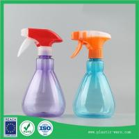China Supply 350ml PET spray gun water bottles  watering can for garden flower or greens on sale