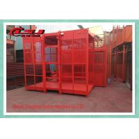 China 2 Motor High Twin Construction Material Lift , Building Site Material Lift Elevator on sale