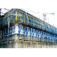 Best Safe Single - Side Climbing System / Climbing Formwork For Dams , Cooling Towers wholesale