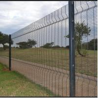 Wholesale High Security Welded Mesh Fence Galvanized Wire Fence Panels Easily Assembled from china suppliers
