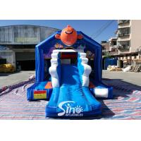 Wholesale small inflatable bounce house bouncy Castle With Slide Combo Jumper For Inflatable Games bounce house slide combo from china suppliers