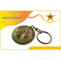 Wholesale Antique Plating Metal Promotional Key Chains For Souvenir Gift from china suppliers