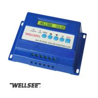 Buy cheap Wellsee WS-SC2430 20A three -stage solar charge and discharge controller from wholesalers