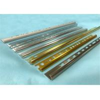 Wholesale Customized Color Aluminium Floor Trim Profiles 5 Years Warranty 10mm Height from china suppliers