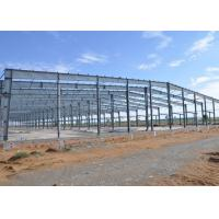 Wholesale Economic And Typical Workshop Steel Structure 3000㎡ Red Color GB Standard from china suppliers