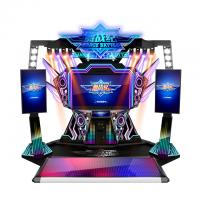 Wholesale Douple Players PK Coin Operated Arcade Dance Machine For Playground from china suppliers