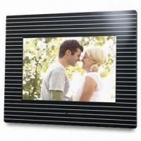 Wholesale 12-inch Digital Photo Frame with High Pixel Panel, Supports CF, SD, MMC, XD and MS Cards from china suppliers