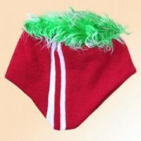 Wholesale 100% Acrylic Knitted Jacquard Hat with Fur from china suppliers