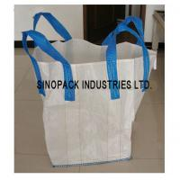 Flexible Intermediate Bulk Containers Circular / Tubular Big Bag Sand gravel soil trasportation