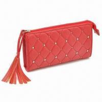 China Women's Wallet with Coin Pocket and Card Slots, Available in Various Colors on sale