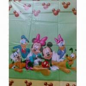 China Cartoon-printed Polyester Taffeta Fabric , Waterproof, Used for Children's Umbrella/Clothing on sale
