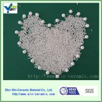 Wholesale White silicated zirconium grinding ball mill grinding media with good quality from china suppliers