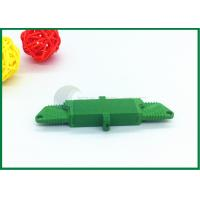 China APC Fibre Optic Cable Connectors Green With Low Insertion Loss E2000 Fiber Connector on sale