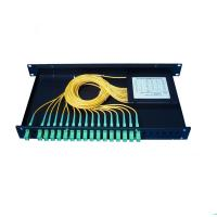 Wholesale Anti Humidity PLC Optical Splitter 3 In 1 Out -40~+85 Operating Temperature from china suppliers