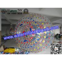Wholesale Shining Outside Rent Inflatable Zorb Ball games For water park from china suppliers