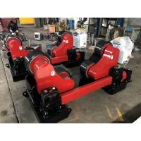 Wholesale Red-Black 20T Self Aligning Pipe Welding Rotator ,Wind Tower Tank Turning Rolls from china suppliers