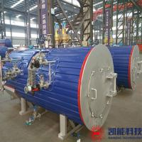 China 600 - 700kw Threaded Tube Waste Heat Recovery Boiler 0.8MPa Working Pressure for sale