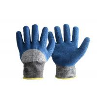 HPPE Level 5 Nitrile Coated Work Gloves Cut Resistant For Glass Manufacturing for sale