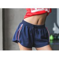 Wholesale 2 In 1 Jogging Gym Womens Workout Shorts , Jogger Shorts Womens Anti Pick Finish from china suppliers