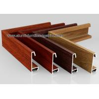 Wholesale Custom Wood Grain Copy Aluminium Picture Frame Mouldings Profiles from china suppliers