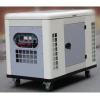 Silent air cooled 20kw portable gasoline generator 4 stroke OHV two cylinder engine genset for sale