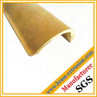 Buy cheap brass extrusion for pen clips from wholesalers