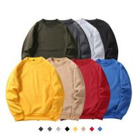 China 2020 Wholesale xxxxl hip hop plain Crewneck Sweatshirt With Pockets Organic Cotton sports hoodies for sale