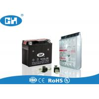 Wholesale Dry Charged 12v Motorbike Battery , 12v 5ah Motorcycle Battery With Acid Pack from china suppliers