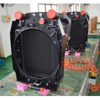 China Aluminum bar& plate truck radiator with heavy duty performance for sale