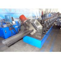 China 100 - 240mm C Purlin Roll Forming Machine Manual Width Adjustment Type on sale