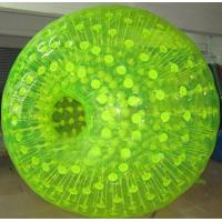 China SGS Durable PVC or TPU Inflatable Zorb Ball Have One Entrance or Two Entrances on sale